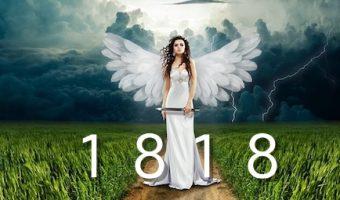 天使からのメッセージ、エンジェルナンバー1818の5つのポイント